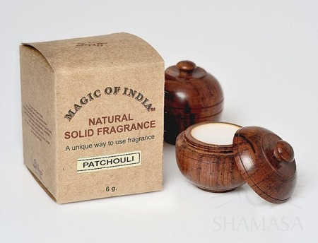 Naturalne perfumy w kremie Magic of India™ PATCHOULY (Paczuli)